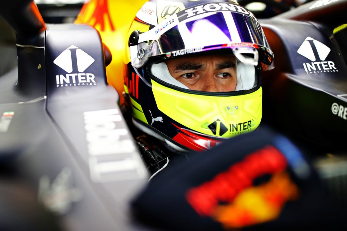 Checo Perez Red Bull